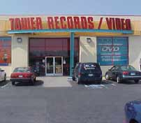 Tower Records Fresno, after it moved