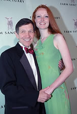 Elizabeth Kucinich and her husband